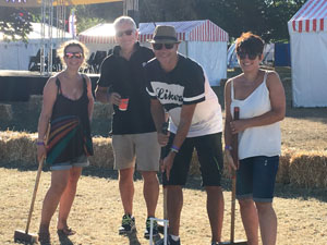 Picture: Alison Jones - Croquet at Countryfile Live