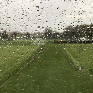 Picture: Rich Waterman - A rainy day at Compton.