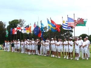 Picture: Ray Hall - Competitors at the Opening Ceremony